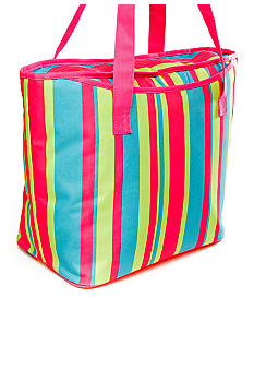 Home Accents Stripe Insulated Tote