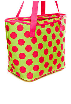Home Accents Polka Dot Insulated Tote