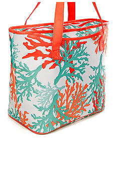 Home Accents Coral Insulated Tote