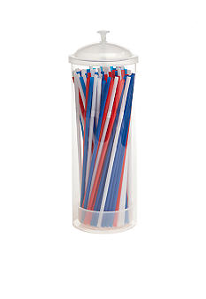 Home Accents Americana Straw Dispenser