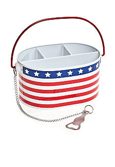 Home Accents Stars and Stripes Caddy