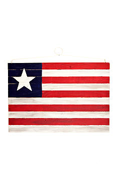 Home Accents Wooden American Flag