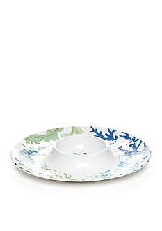 Home Accents Melamine Sea Life Coastal Chip & Dip