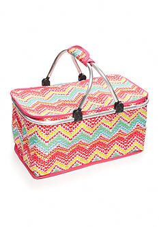 Home Accents Chevron Insulated Picnic Tote