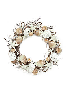 Home Accents Coastal Seashell Wreath
