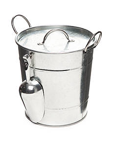 Home Accents Galvanized Ice Bucket