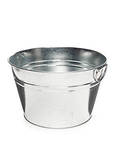 Home Accents Galvanized Beverage Tub