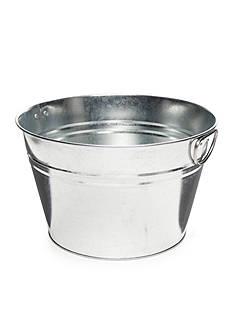 Home Accents Galvanized Beverage Tub
