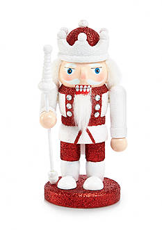 Home Accents Holly Jolly Christmas Glittered King Nutcracker Ornament