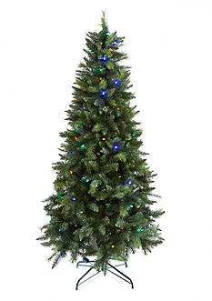 Home Accents 7.5-ft. Pre-Lit Montreal Pine Tree