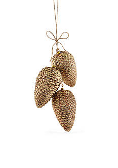 Home Accents Woodland Wonder Large Pinecone Ornament