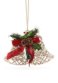 Home Accents Woodland Wonder Jute String Bells Ornament
