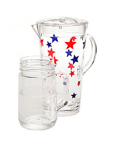 Home Accents Americana Pitcher and Drinkware