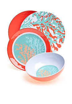 Home Accents Coral Dinnerware Collection