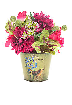 Floral Arrangement in Decorative Pot