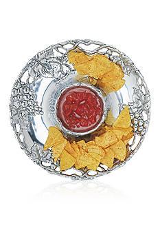 Arthur Court Grape Chip & Dip Bowl