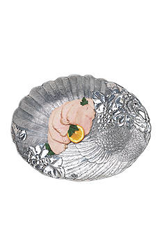 Arthur Court Turkey Oval Platter - Online Only
