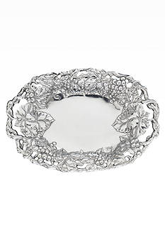 Arthur Court Grape Oval Tray