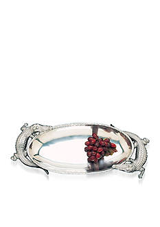 Arthur Court Alligator Centerpiece Tray - Online Only