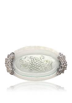 Arthur Court Grape Glass Platter - Online Only