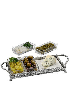Arthur Court Grape Modular Tray