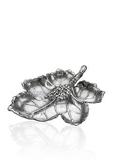 Arthur Court Grape Leaf Chip & Multidip Tray - Online Only