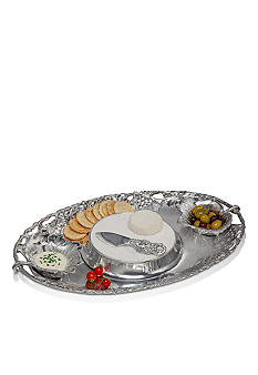 Arthur Court Grape Entertainment Tray- 5 piece set