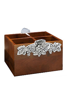 Arthur Court Grape Flatware Caddy