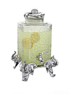 Arthur Court Elephant Beverage Server