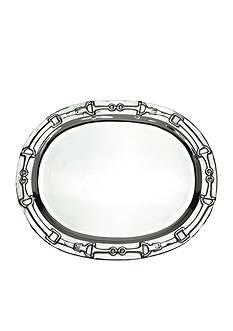 Arthur Court Equestrian Oval Platter - Online Only