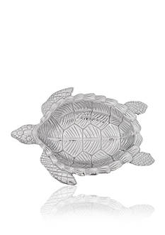 Arthur Court Sea Turtle Oval Bowl