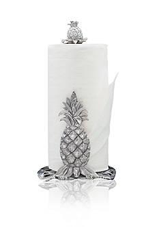Arthur Court Pineapple Paper Towel Holder - Online Only