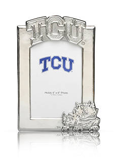 Arthur Court NCAA TCU Horned Frogs 4x6 Photo Frame