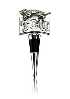 Arthur Court NCAA TCU Horned Frogs Bottle Stopper