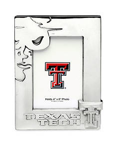 Arthur Court NCAA Texas Tech Red Raiders 4x6 Photo Frame