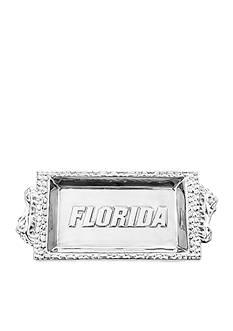 Arthur Court NCAA Florida Gators Bread Tray