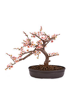Nearly Natural Cherry Blossom Bonsai Silk Tree