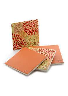 Fiesta Tangerine/Warm Calypso Coasters Set of 4