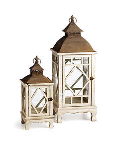 Napa Home & Garden™ 2-Piece Chinoiserie Lantern Set