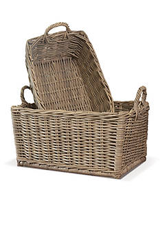 Napa Home & Garden™ Normandy set of 2 Laundry Baskets
