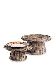 Napa Home & Garden™ 2-Piece Normandy Food Riser Set