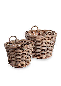 Napa Home & Garden™ Normandy Set of 2 Tree Baskets