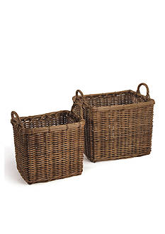 Napa Home & Garden™ Normandy Set of 2 Square Chateau Baskets