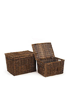 Napa Home & Garden™ Normandy set of 2 Storage Trunks