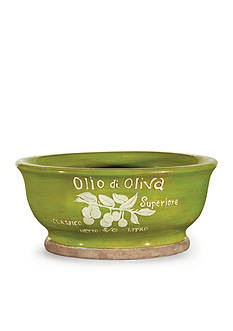 Napa Home & Garden™ 5.75-in. Olivetti Footed Bowl