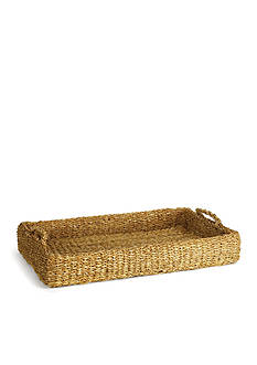 Napa Home & Garden™ Seagrass Low Tray with Handles