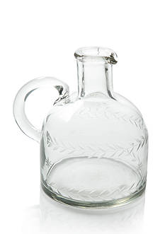 Napa Home & Garden 5-in. Etched Glass Jug