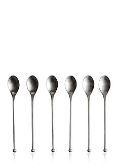 Knork Set of 6 Gloss Iced Tea Spoons