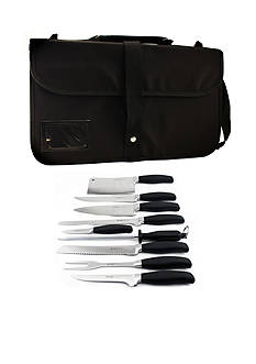 BergHOFF 10-Piece Knife Folding Bag - Black