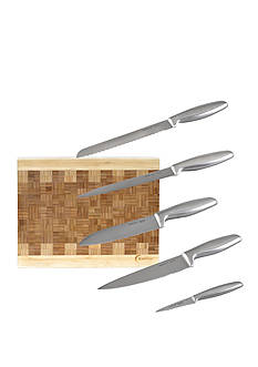 BergHOFF Geminis 5-Piece Cutlery and Cutting Board Set